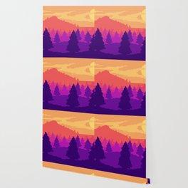8-bit sunset Wallpaper