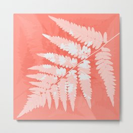 From the forest - light coral Metal Print