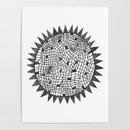 Sun or Star Poster