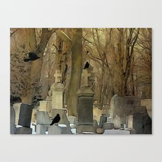 Gothic Splash Canvas Print