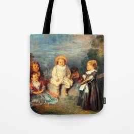 Heureux age, Age d'or Painting Artwork Tote Bag