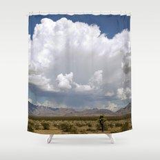 desert drive by Shower Curtain