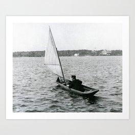 Dugout, Newport, Rhode Island  Art Print