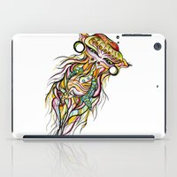 jelly fish iPad Cases featuring Jelly Fish by Minimynimo