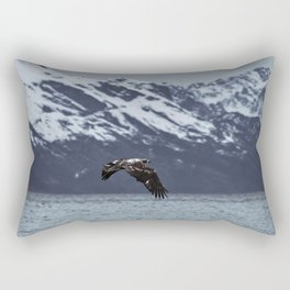 Where The Eagle Flies Rectangular Pillow