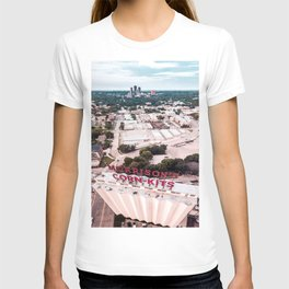 Texas Women's University and Morrison's Corn Kits in Denton, Texas T-shirt