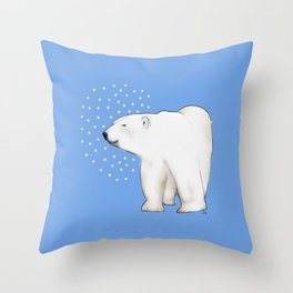 Polar Bear #8 Throw Pillow