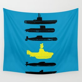 Know Your Submarines V2 Wall Tapestry
