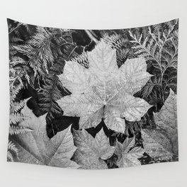 Ansel Adams - Leaves Wall Tapestry