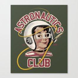 Astro Club (green) Canvas Print