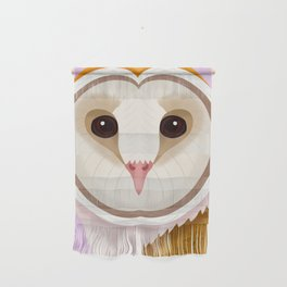 Barn Owl Wall Hanging