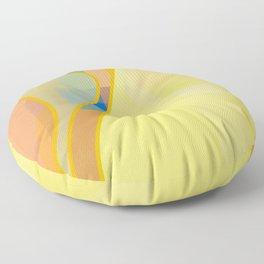 Standing Repose Floor Pillow