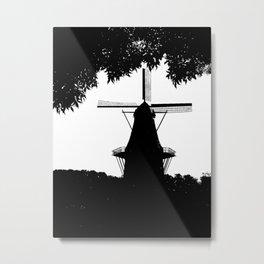 Moulin Noir Metal Print
