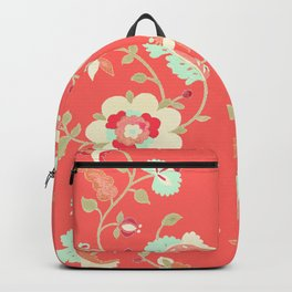 coral adrienne Backpack
