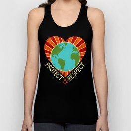 Protect & Respect Unisex Tank Top