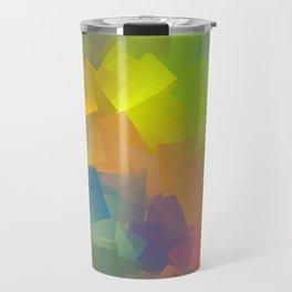 Abstract cubism -2- Travel Mug