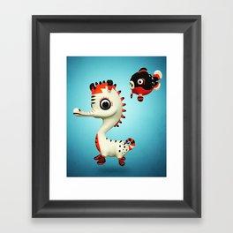 Sealhorse Framed Art Print