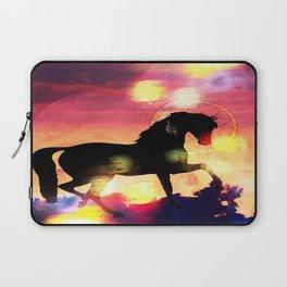Sunset  Stallion Laptop Sleeve