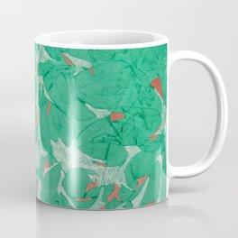 Birds - Abstract Watercolor Painting Coffee Mug