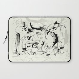 Crushed by a Bull Laptop Sleeve