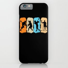 Laxing Laxer Sports For Players Lacrosse iPhone Case