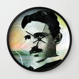 Tesla Wall Clock