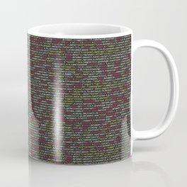 Developer's Terminal Pattern Coffee Mug