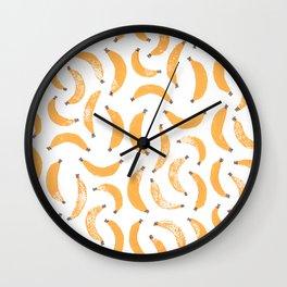 Bananananananas Wall Clock