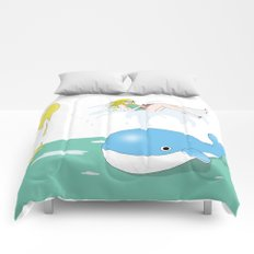 Whale of a time Comforters