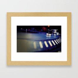 Dusty Needle Framed Art Print