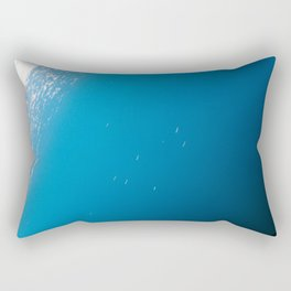 Points in the sea Rectangular Pillow