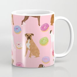 Boxer donuts cute gifts for pure breed dog lover Boxers dog owners Coffee Mug