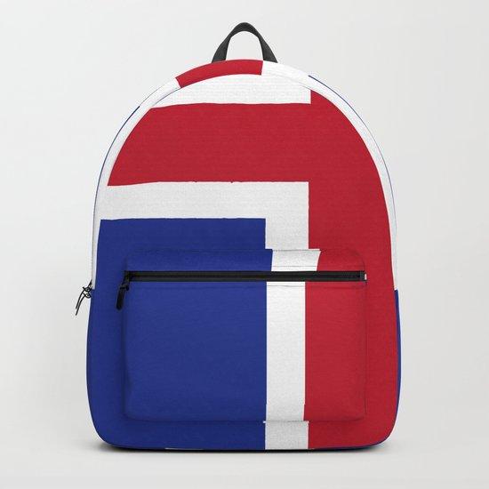 Iceland flag emblem by textures