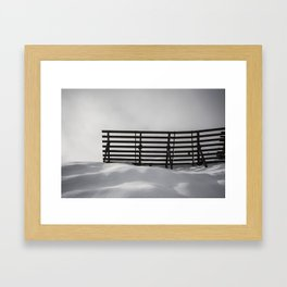 Untouched Framed Art Print