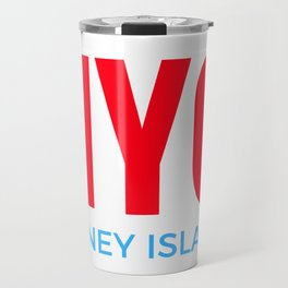 NYC Coney Island Travel Mug