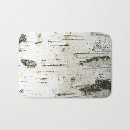 Birch bark pattern Bath Mat