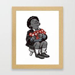 All the love Framed Art Print