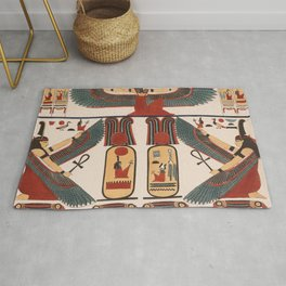 Ancient Egyptian pattern design Rug