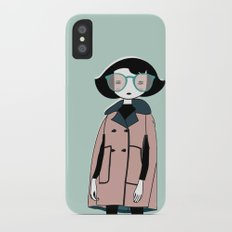Jacqueline iPhone X Slim Case