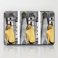 lighthouse iPad Cases featuring lighthouse by The Traveling Catburys