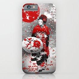Sakura fubuki iPhone Case