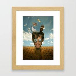 Surreal Thoughts Framed Art Print