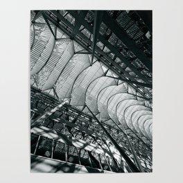 Allen Lambert Galleria    Atrium by Santiago Calatrava Poster