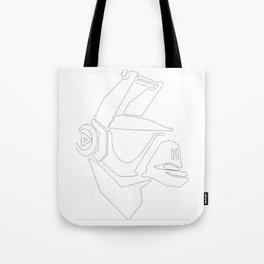 DJ Yonder Tote Bag