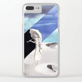 parasol Clear iPhone Case