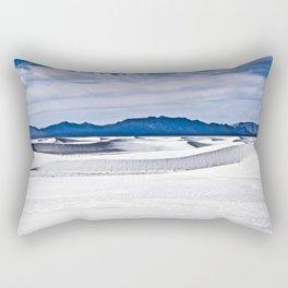 White Sands N.M. Rectangular Pillow