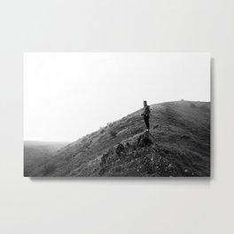Edge of the world. Metal Print