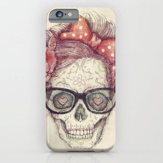 Hipster Girl is Dead iPhone & iPod Case
