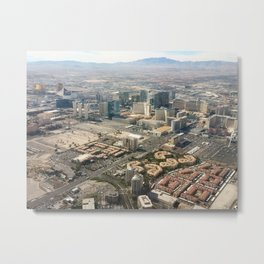 Leaving Las Vegas 3 Metal Print