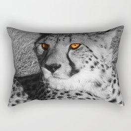 B&W Splash CHEETAH Rectangular Pillow
